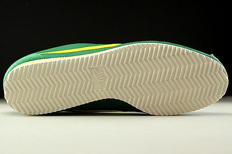 Nike Classic Cortez Nylon AW Pine Green Opti Yellow Sail Outsole
