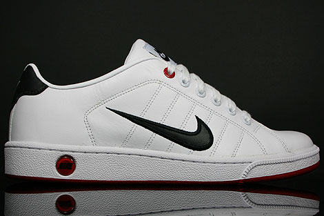 Nike Court Tradition 2 White Black Varsity Red