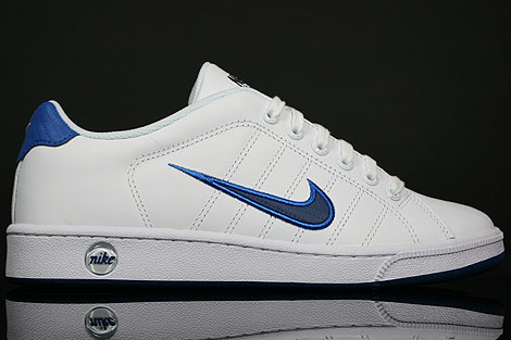 Nike Court Tradition 2 Weiss Blau Dunkelblau