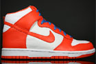 Nike Dunk Hi White Orange Varsity Blue
