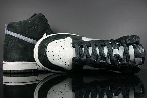Nike Dunk High Black Anthracite Medium Grey Outsole