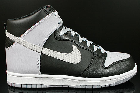 Nike Dunk High Black Wolf Grey White