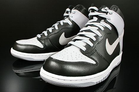 Nike Dunk High Black Wolf Grey White 317982 048 Purchaze