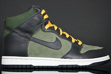 Nike Dunk Hi Urban Haze Dark Charcoal Sail