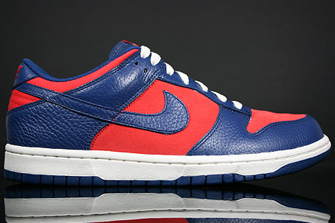 Nike Dunk Low CL Orange Blau Creme