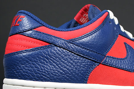 Nike Dunk Low CL Orange Meteor Blue Sail Shoebox