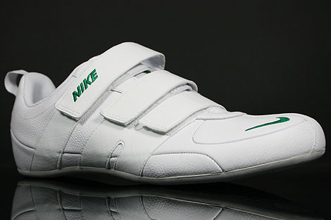 Nike Fixed Speed V Weiss Gruen Grau Seitendetail