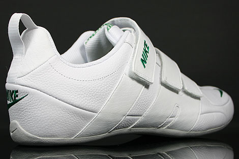Nike Fixed Speed V White Green Grey Over view