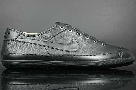 Nike Flash Leather Black Metallic Pewter Ink 334627-012 - Purchaze d92db7699e