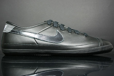 Nike Flash Leather Black White Dark Grey
