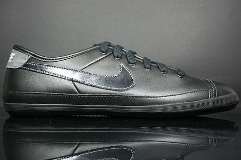 Nike Flash Leather Schwarz Weiss Grau
