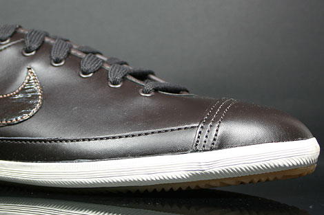 Nike Flash Leather Dunkelbraun Braun Creme Innenseite