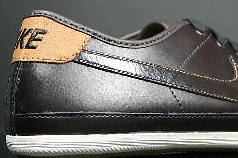 Nike Flash Leather Dunkelbraun Braun Creme Schuhkarton