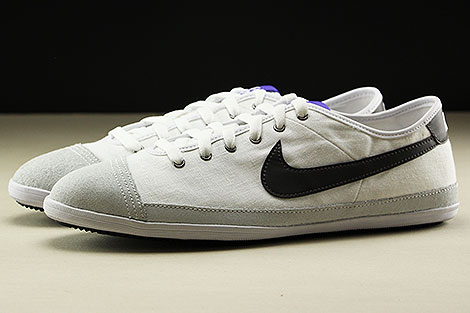 Nike Flash Textile White Midnight Fog Purple Black Profile