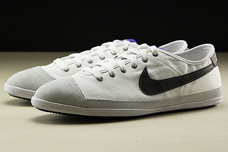 Nike Flash Textile White Midnight Fog Purple Black Sidedetails