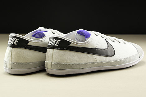 Nike Flash Textile White Midnight Fog Purple Black Back view