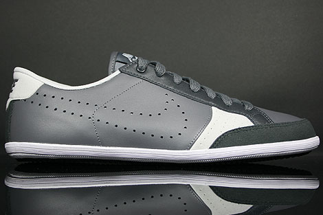 Nike Flyclave Leather Dunkelgrau Anthrazit Weiss