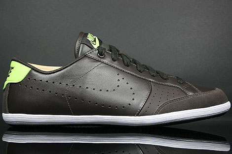 Nike Flyclave Leather Velvet Brown Volt White Right