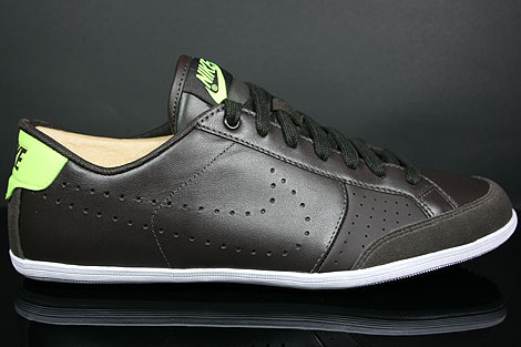 Nike Flyclave Leather Velvet Brown Volt White Profile