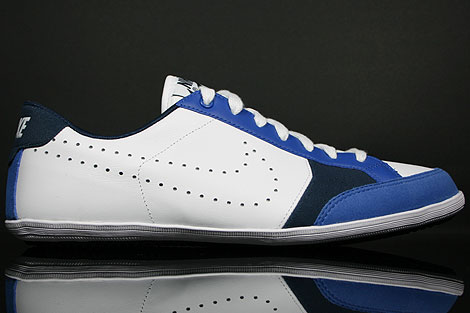 Nike Flyclave Leather White Varsity Royal Midnight Navy