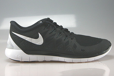 Nike Free 5.0 Black White Anthracite Right