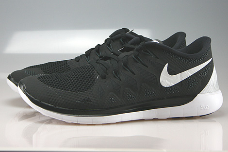 Nike Free 5.0 Black White Anthracite Profile