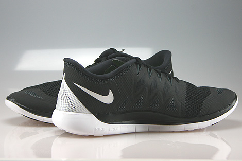 Nike Free 5.0 Black White Anthracite Inside
