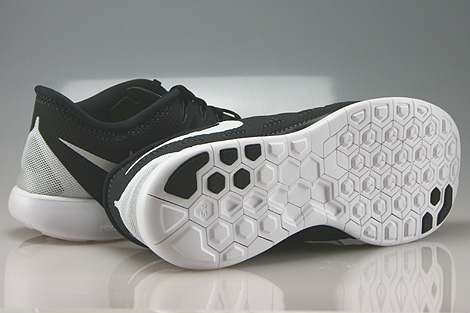 Nike Free 5.0 Black White Anthracite Outsole