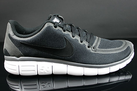 nike free 5.0 v4 Nike Free 5.0 V4 Black White Dark Grey 511282-011 - Purchaze