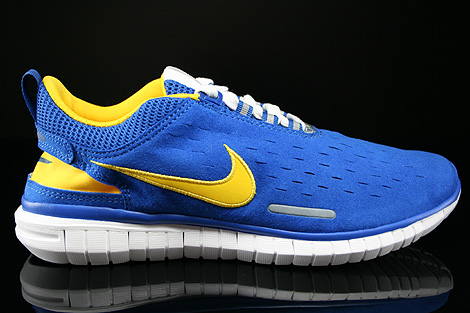 Nike Free OG 14 Sport Royal Varsity Maize White Black Right