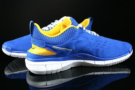 Nike Free OG 14 Blau Gelb Weiss Schwarz Innenseite
