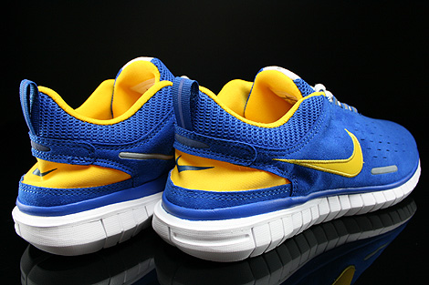Nike Free OG 14 Sport Royal Varsity Maize White Black Back view