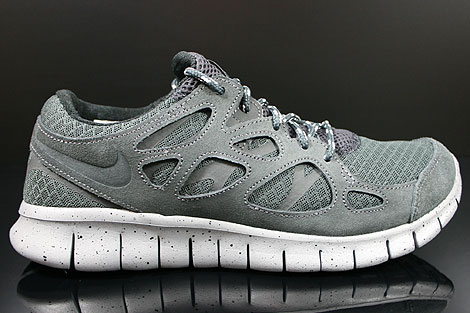 afb20b7cc01f Nike Free Run+ 2 Anthracite Black Metallic Silver White 537732-011 -  Purchaze