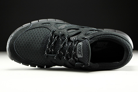 Nike Free Run 2 Black Dark Grey Over view
