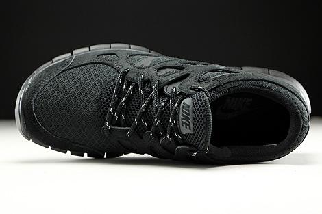 Nike Free Run 2 Schwarz Anthrazit Oberschuh