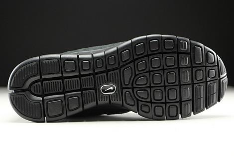 Nike Free Run 2 Schwarz Anthrazit Laufsohle