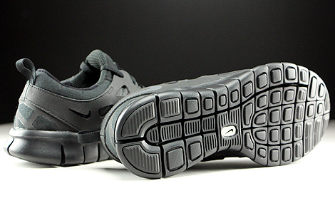Nike Free Run 2 GS Black Dark Grey Outsole