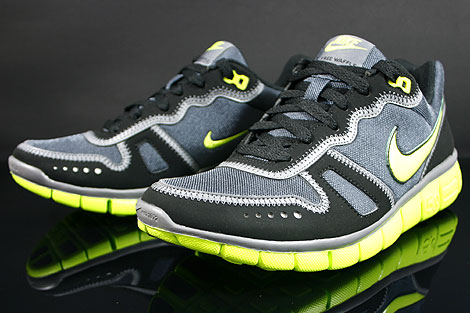 Nike Free Waffle AC Anthracite Cyber Grey Black Sidedetails
