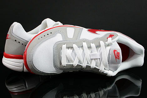 Nike Free Waffle AC White Sport Red Wolf Grey Over view