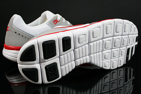Nike Free Waffle AC White Sport Red Wolf Grey Outsole
