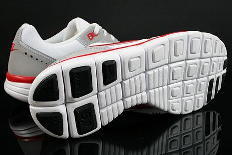 Nike Free Waffle AC Weiss Rot Grau Laufsohle