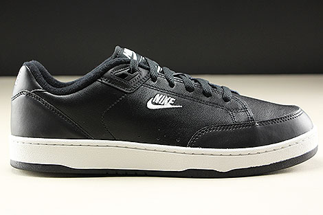 Nike Grandstand II Black White Neutral Grey Right