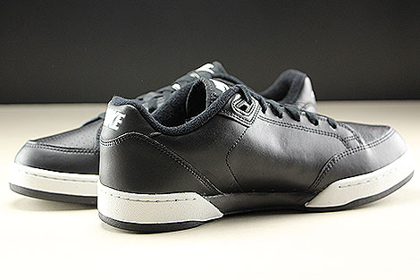 Nike Grandstand II Black White Neutral Grey Inside