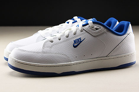 factory price d05c8 d60aa ... Nike Grandstand II White Team Royal Profile ...