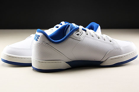 Nike Grandstand II White Team Royal Innenseite