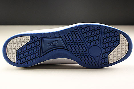 Nike Grandstand II White Team Royal Outsole