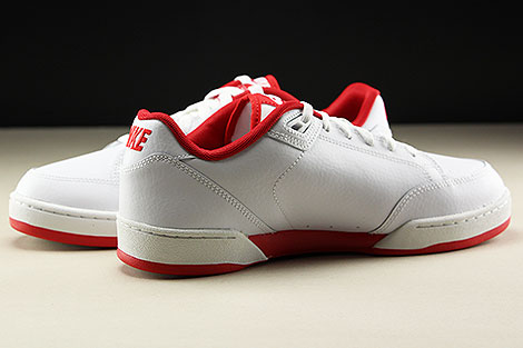 Nike Grandstand II White University Red Inside