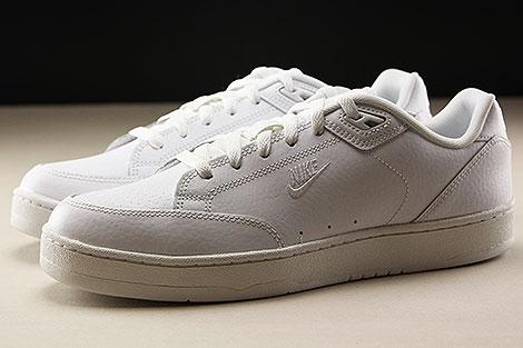 Nike Grandstand II White White Profile