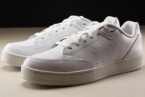 Nike Grandstand II White White Sidedetails