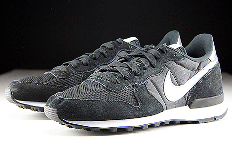 Nike Internationalist Black Grey Mist Dark Grey White Sidedetails